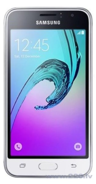 Samsung J120H/DS Galaxy J1 (2016) White (Белый) цена и информация | Mobilie telefoni | 220.lv