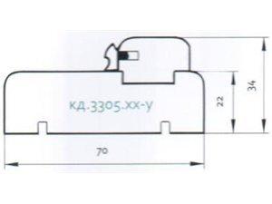 Aploda MD 33.5 07 497 tumšs ozols cena un informācija | Iekšdurvis | 220.lv