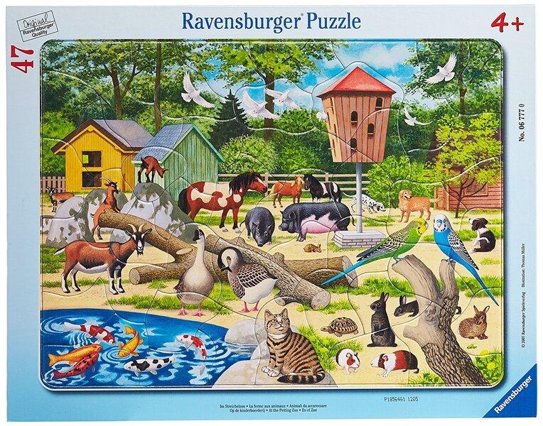 Пазл Ravensburger Зоопарк 47 деталей, 06777