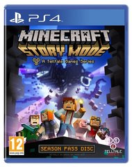 Spēle Minecraft Story Mode: The Complete Adventure (PS4)