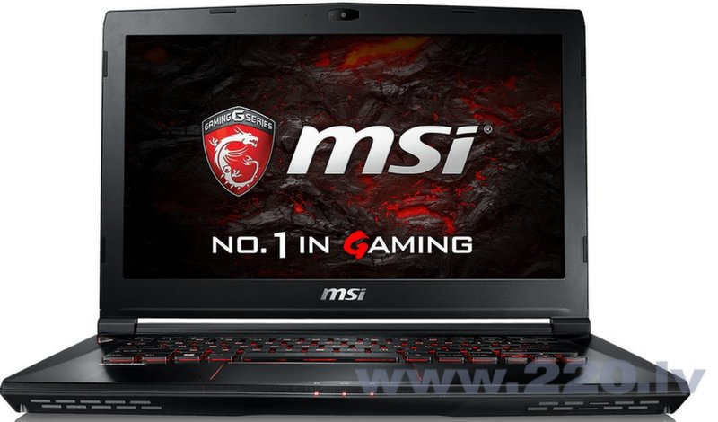 MSI GL43VR (GS43VR6RE-009NL) Win10 цена и информация | Portatīvie datori | 220.lv