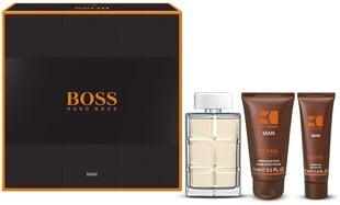 Komplekts Hugo Boss Orange Man: edt 100 ml + dušas želeja 50 ml + dezodorants 75 ml