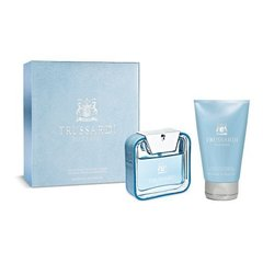 Komplekts Trussardi Blue Land: edt 50 ml + dušas želeja 100 ml