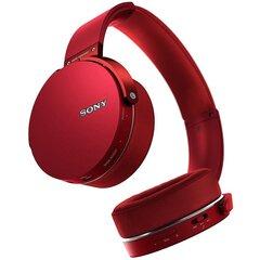 Austiņas Sony MDR-XB650BT, sarkanas cena un informācija | Austiņas | 220.lv