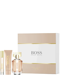 Комплект Hugo Boss Boss The Scent For Her: edp 50 мл + лосьон для тела 50 мл + mini