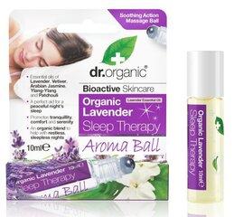 Шариковая бутылочка ароматерапии Dr.Organic Lavender Sleep Therapy 10 мл