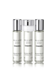 Tualetes ūdens Chanel Allure Sport edt 3x20 ml