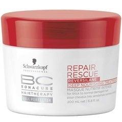 Matu maska Schwarzkopf Professional BC Bonacure Repair Rescue Reversilane 200 ml