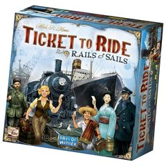 Galda spēle TICKET TO RIDE: RAILS & SAILS