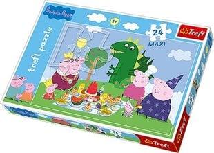 Puzzle Trefl Cūciņa Peppa (Peppa Pig) cena un informācija | Puzzle Trefl Cūciņa Peppa (Peppa Pig) | 220.lv