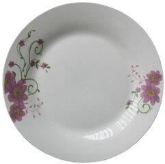 Šķīvis Puķes, 19 cm cena un informācija | Trauki | 220.lv
