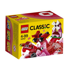 10707 LEGO® Classic Red Creativity Box Sarkana kaste