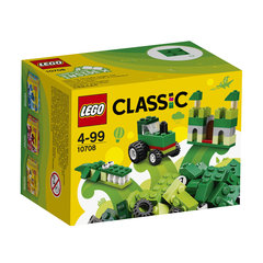 10708 LEGO® Classic Green Creativity Box Зеленая коробка