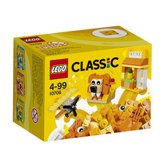 10709 LEGO® Classic Green Creativity Box Oranža kaste