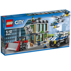 60140 LEGO City Bulldozer Break-in Buldozers ielaužas