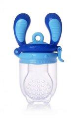 Kidsme Food Feeder bērna ēdināšanas ierīce cietiem produktiem (liels), Aquamarine, no 6 mēn.