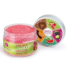 Ķermeņa skrubis Dermacol Aroma Ritual Juicy Rhubarb&Strawberry 200 g