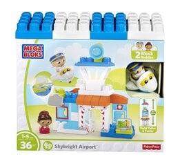 Rotaļu klucīšu komplekts MEGA BLOKS Airport, 36 det., DPJ56