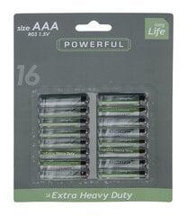 Long Life AAA, 16 штук цена и информация | Батарейки | 220.lv