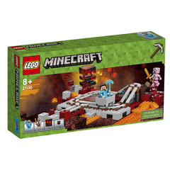 21130 LEGO® Minecraft The Nether Railway Dzelsceļš