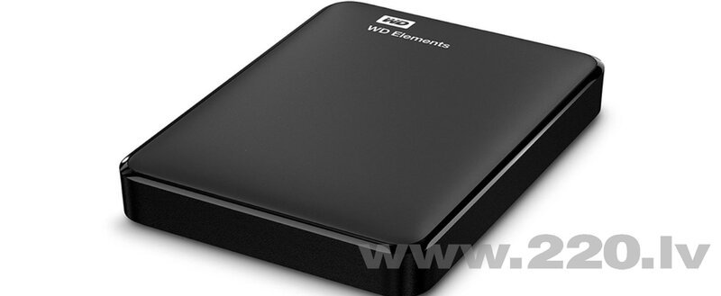 WD Elements 3TB USB3.0 2.5'' internetā