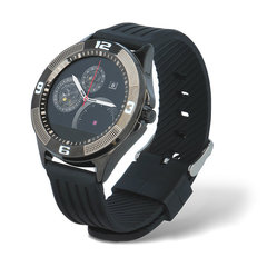 Forever SW-100 смарт часы с монитором сердечного ритма и функцией звонка, Bluetooth (Чёрный)
