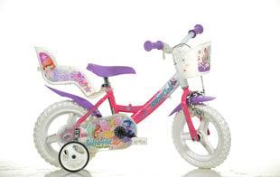 "Meiteņu divritenis Dino Bikes Winx 12"", 124RL-WX7"