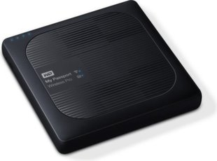 WD My Passport Wireless Pro, 2.5'', 4TB, WiFi, black