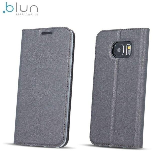 Чехол-книжка Blun Premium Matt для Huawei Ascend Y5 II (2016) Серый