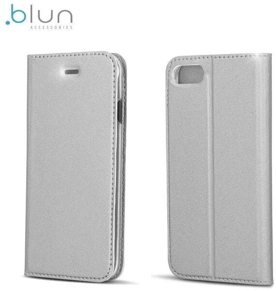 "Чехол-книжка Blun Premium Matt для Apple iPhone 6/6S (4.7"") Серебристый"