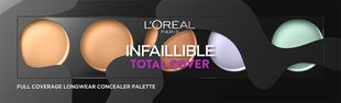Палетка корректоров L'Oreal Paris Infaillible Total Cover 10 г