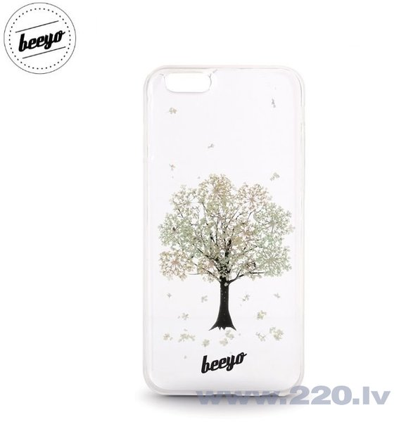 Чехол-крышка Beeyo Blossom для LG K4 K120E / K130 Белый