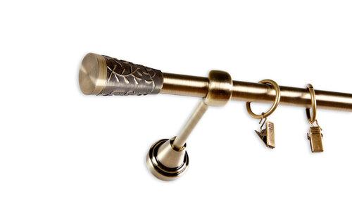 Karnīze ELIZA, 250 cm cena un informācija | Aizkaru stangas, karnīzes | 220.lv