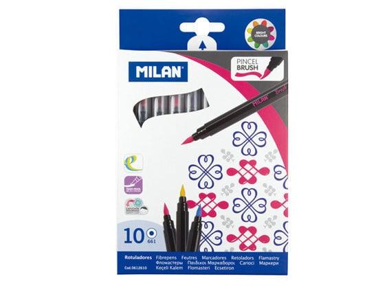 Фломастеры Milan,10 шт., 0612610