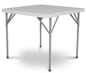 Kvadrātveida salokāms galds Cate cena un informācija | Dārza galdi | 220.lv
