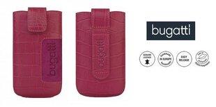 Telefona maciņš M Bugatti CROCO universāls, rozā