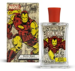 Tualetes ūdens Marvel Comics Iron Man Sonic Blast edt bērnu 75 ml