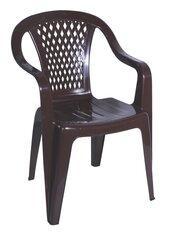 Plastmasas krēsls Diament, brūna