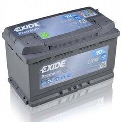 Akumulators EXIDE EA900 90 Ah 720 A EN 12V