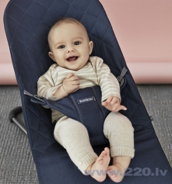 Bērnu šūpuļkrēsls BABYBJÖRN Bliss Midnight blue, 006015​