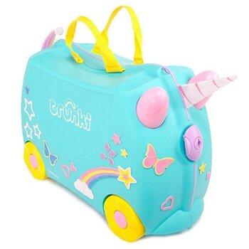 Bērnu koferis Trunki Una Unicorn cena un informācija | Bērnu aksesuāri | 220.lv