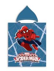 Bērnu dvielis ar kapuci Disney Spiderman