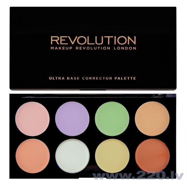 Grima palete Makeup Revolution London Ultra Base Corrector 13 g