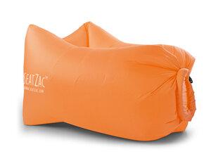 Надувной мешок SeatZac, оранжевый цена и информация | Матрасы | 220.lv