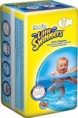 Autiņbiksītes peldēšanai HUGGIES Little Swimmers Small, izmērs 2-3, 12 gab.