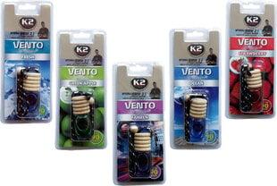Gaisa atsvaidzinātājs K2 Vento, zaļš ābols cena un informācija | Auto gaisa atsvaidzinātāji | 220.lv