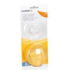 Silikona krūšu aizsargi Medela Contact, M izmērs, 008.0289 cena un informācija | Preces māmiņām | 220.lv