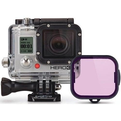 Фильтр для камеры GoPro, Фиолетовый (для дайвинга)