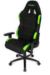 AKRACING Gaming Chair, Melns / Zaļš