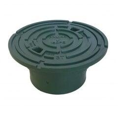 Zaļš plastmasas vāks 160PE-G cena un informācija | Kanalizācijas vāki | 220.lv